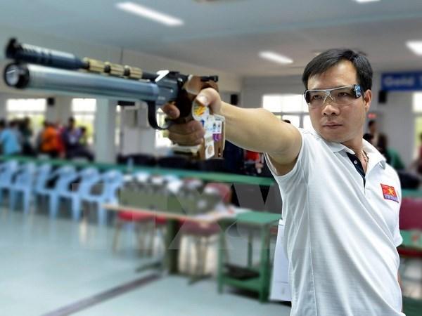 Hoang Xuan Vinh still tops men's 10m air pistol world rankings hinh anh 1