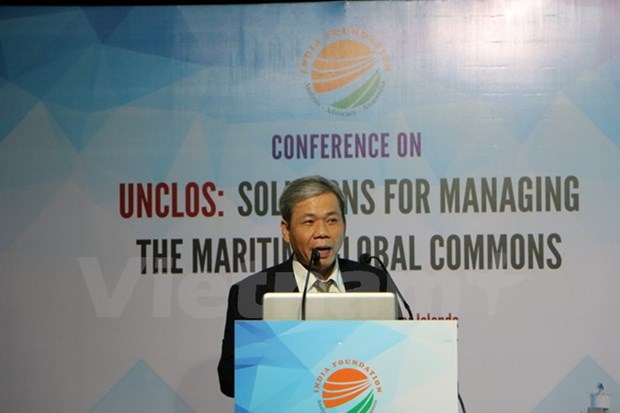 Conference talks UNCLOS's role in managing marine global commons hinh anh 1