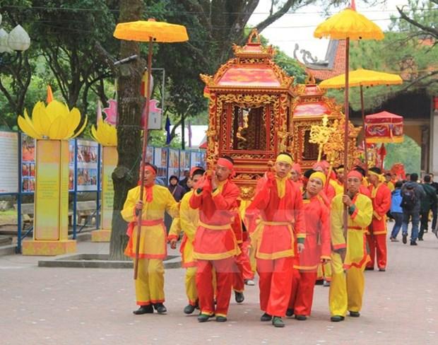 Hai Duong: Con Son-Kiep Bac Autumn Festival opens hinh anh 1