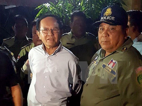 Cambodian interior ministry sues opposition CNRP hinh anh 1