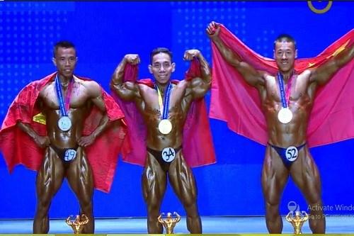 Vietnam has gold at world bodybuilding championships hinh anh 1