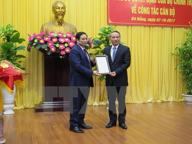 Transport Minister named Secretary of Da Nang City's Party Committee hinh anh 1