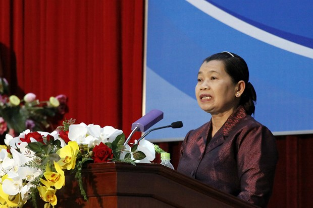 Vietnam, Cambodia hold people's cooperation, friendship meeting hinh anh 1