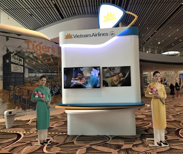 Vietnam Airlines to move operations to T4 at Changi Airport hinh anh 1