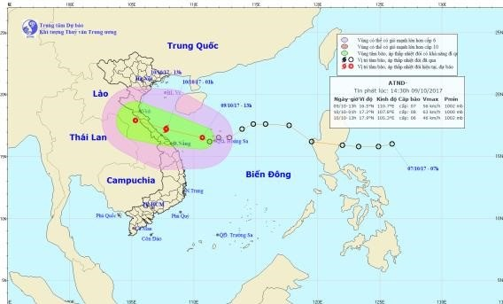 Heavy rains predicted for central region hinh anh 1