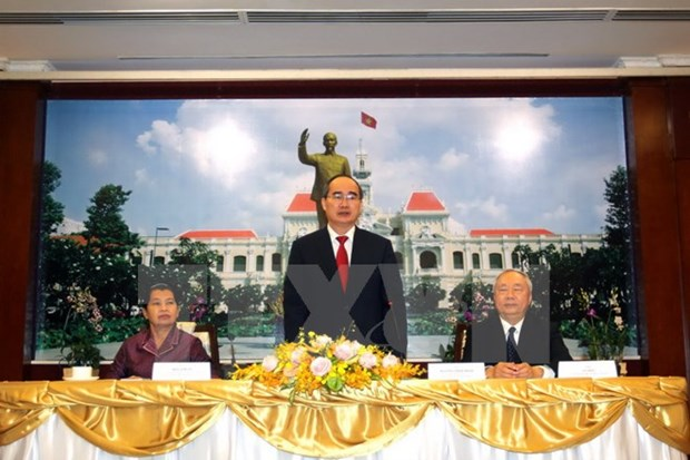 HCM City proud of contributions to Vietnam-Cambodia ties: official hinh anh 1