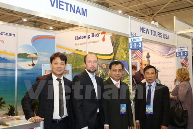 Vietnam represented at int'l travel market in Ukraine hinh anh 1