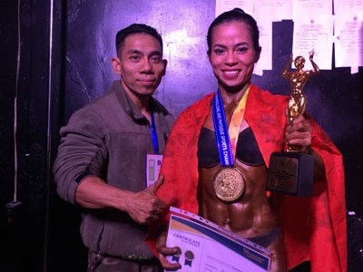 Vietnam wins four golds at world bodybuilding champs hinh anh 1