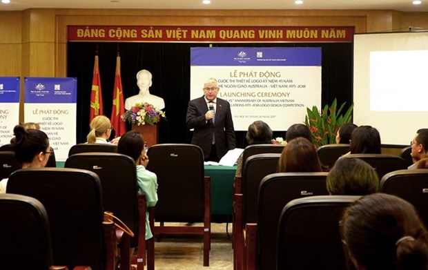 Logo competition launched to mark Vietnam-Australia diplomatic ties hinh anh 1