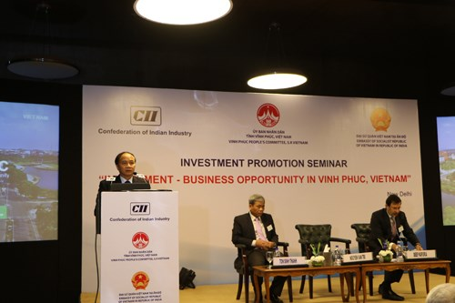 Vinh Phuc province invites investors in India hinh anh 1