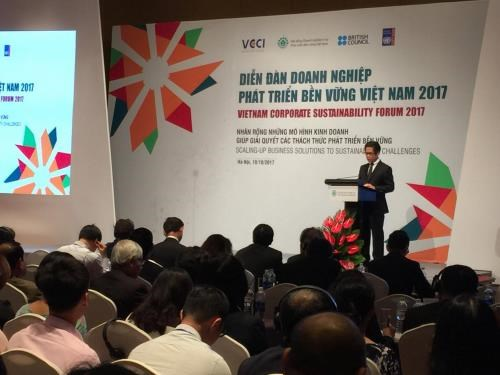 Forum looks to scale up business solutions to sustainability challenges hinh anh 1