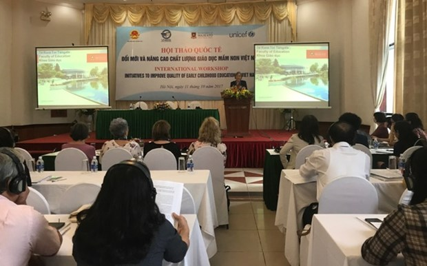 Vietnam targets higher pre-school education quality hinh anh 1