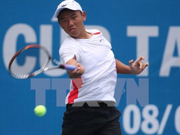 Vietnamese tennis star through to next round in Thailand hinh anh 1