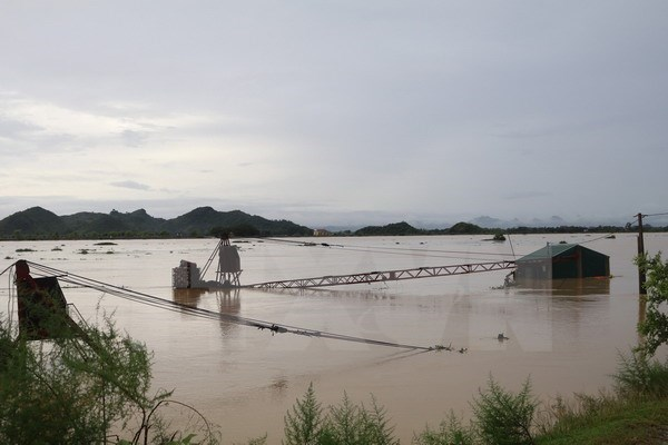 Floods reach 40-year historic levels in many northern rivers hinh anh 1