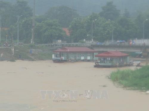 Downpour, flood wreak havoc in Hoa Binh province hinh anh 1