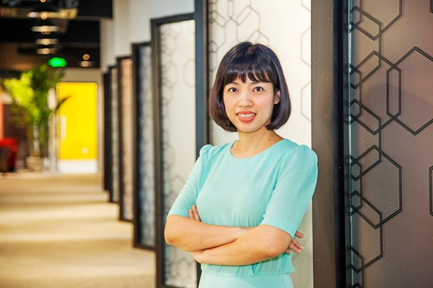 Many successful firms in Vietnam run by talented women: WISE director hinh anh 1