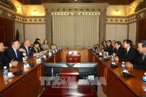 HCM City, Hungary seek to realise cooperative agreements hinh anh 1