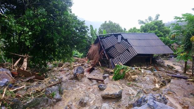 Hoa Binh: 41 died, injured, missing in floods, landslides hinh anh 1