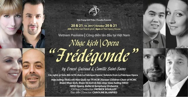 French opera to be played for first time in over a century hinh anh 1