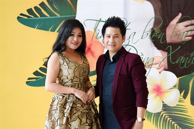 Patriotic singers to perform together hinh anh 1