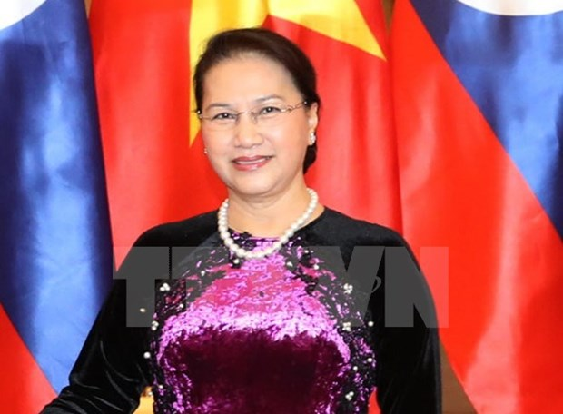NA Chairwoman leaves for IPU assembly in Russia hinh anh 1