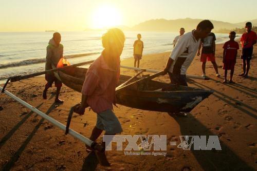 Australia, Timor-Leste reach draft agreement on maritime border hinh anh 1
