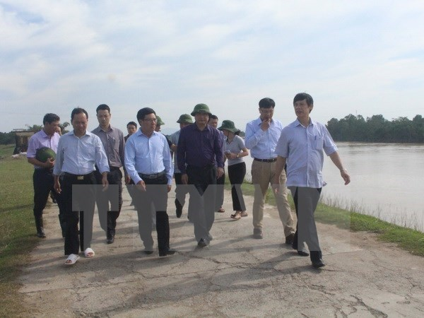 Deputy PM directs flood recovery efforts in Thanh Hoa hinh anh 1