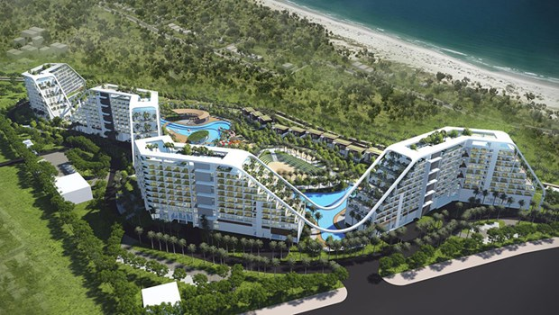 FLC Nghe An resort to be constructed in Q1 2018 hinh anh 1