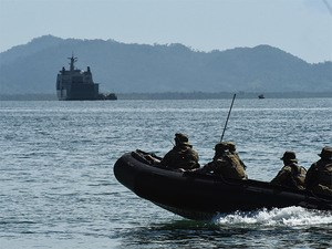 Philippines, Australian forces stage sea drill as ties deepen hinh anh 1
