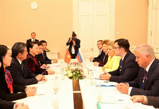 Vietnam backs Russia's parliamentary cooperation activities hinh anh 1