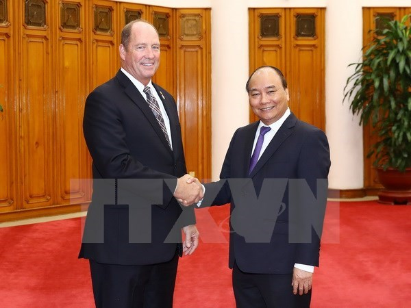 Prime Minister values US Congress's support to relations with Vietnam hinh anh 1