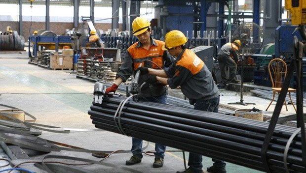 Steel sector grows 24 percent in nine months hinh anh 1