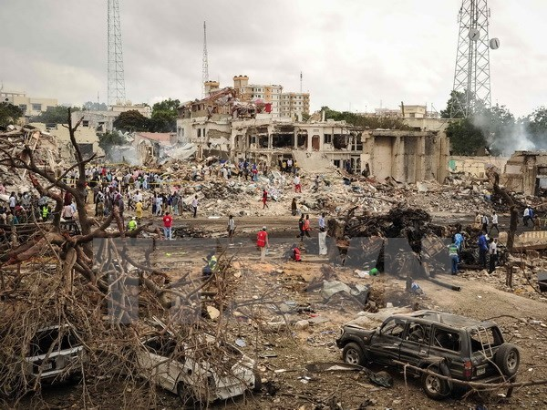 Condolences to Somalia on heavy losses in terror attack hinh anh 1