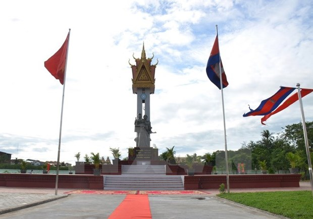 Vietnam-Cambodia Friendship Monument inaugurated hinh anh 1