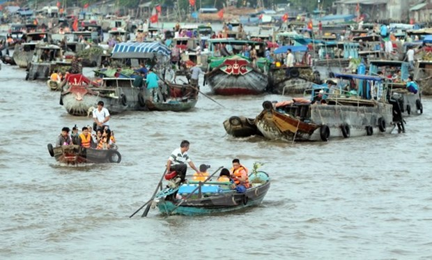 Hanoi cultural week features Cai Rang floating market hinh anh 1