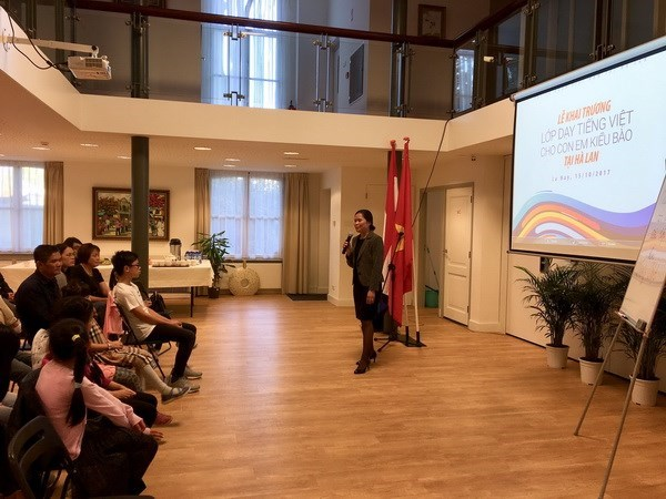 Vietnamese language course opens in the Netherlands hinh anh 1