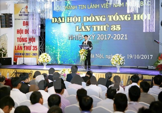 Evangelical Church (North) holds 35th General Assembly hinh anh 1