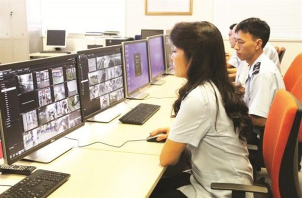Automated customs system piloted at Noi Bai airport hinh anh 1