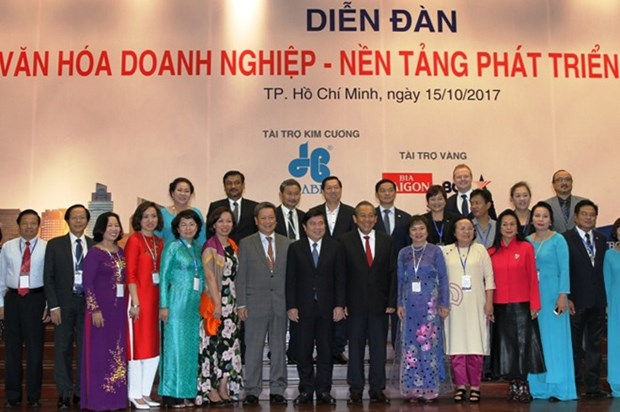 Businesses urged to build corporate culture hinh anh 1