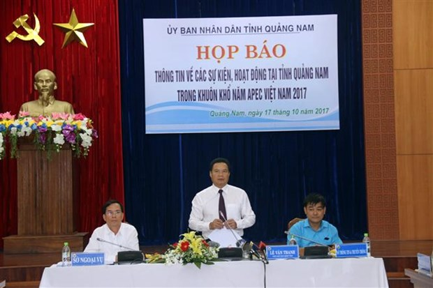 Quang Nam in place for APEC 2017 events hinh anh 1