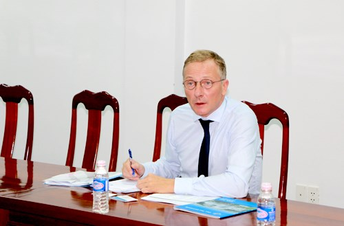 Can Tho University to expand cooperation with German universities hinh anh 1