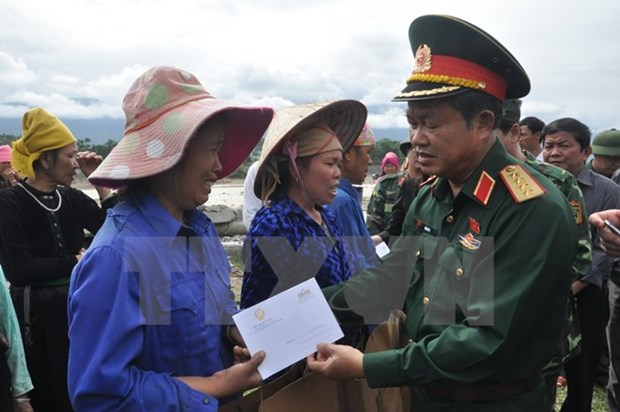 NA leader inspects flood aftermath settlement in Yen Bai hinh anh 1