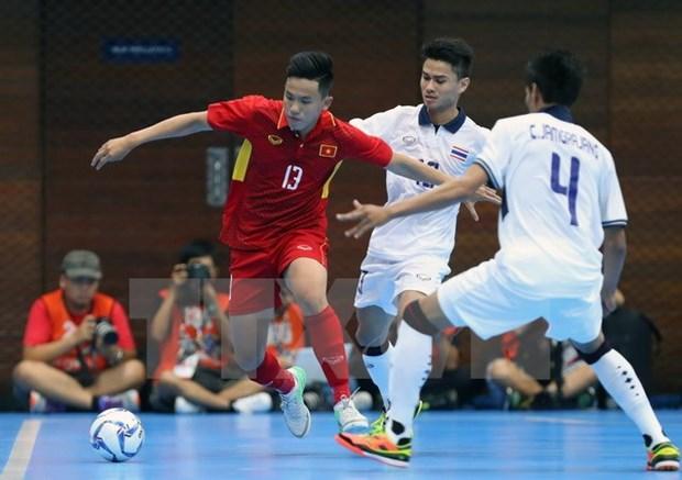 Vietnam targets final berth at AFF Futsal Championship hinh anh 1