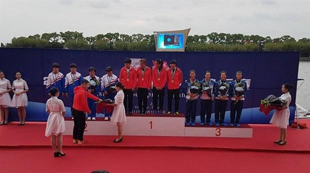 Vietnam win Asian canoe bronze medals hinh anh 1