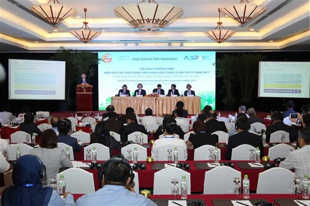 21st Asian Science Park Association conference runs in HCM City hinh anh 1