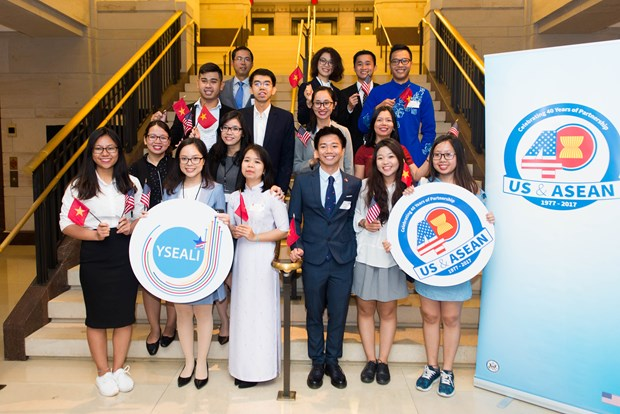 US celebrates founding of diplomatic ties with ASEAN hinh anh 1