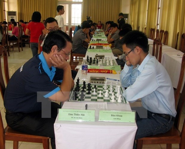 Vietnam attends World Youth Rapid, Blitz Chess Championships 2017 hinh anh 1