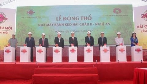 Ground broken for 16 million USD candy factory in Nghe An hinh anh 1