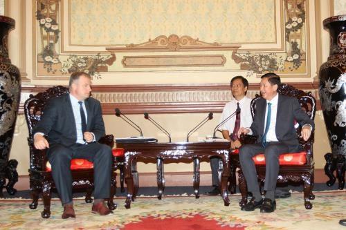 HCM City, Belarus seek cooperation in public transport hinh anh 1