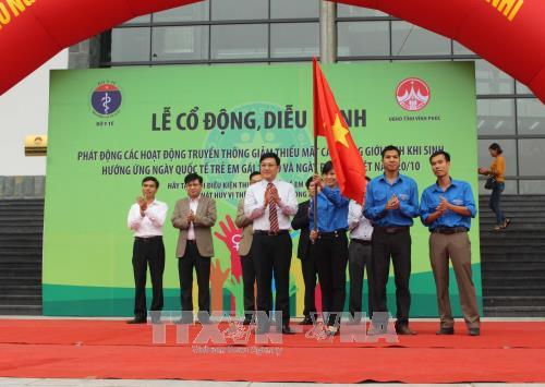Communication campaign kicks off to address gender imbalance hinh anh 1